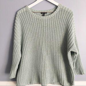 Eileen Fisher Organic Cotton Tape Yarn Sweater